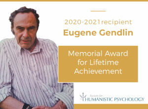 Read more about the article Eugene Gendlin recognised posthumously